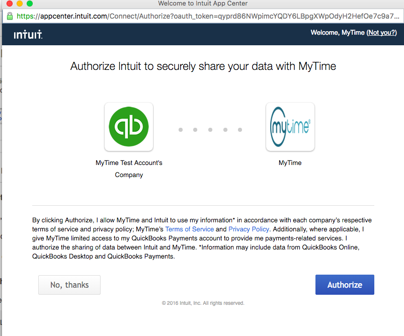 How do I connect QuickBooks with MyTime Inventory? – Help Center